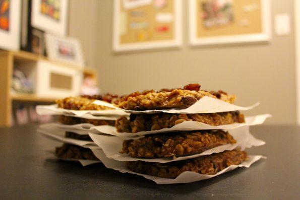 freezable oatmeal breakfast bars